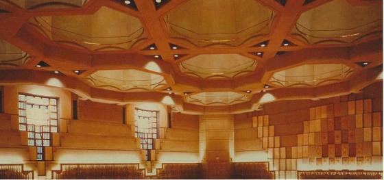 The Ismaili Jamatkhana and Centre, Burnaby. According to the architet, Bruno Freschi: