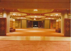 Burnaby Ismaili Centre, Outside Prayer Hall. Photo: Bruno Freschi Collection, 1985