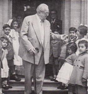 """The late Aga Khan stressed the importance of educating girls. He went to the extent of declaring that """"Personally, if I had two children, and one was a boy and the other a girl, and if I could afford to educate only one, I would have no hesitation in giving the higher education to the girl."""""""