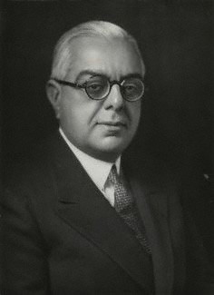 Sir Sultan Muhammad Shah, Aga Khan III. Photo Copyright National Portrait Gallery, London.