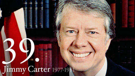 Jimmy Carter, the thirty-ninth President of the United States of America