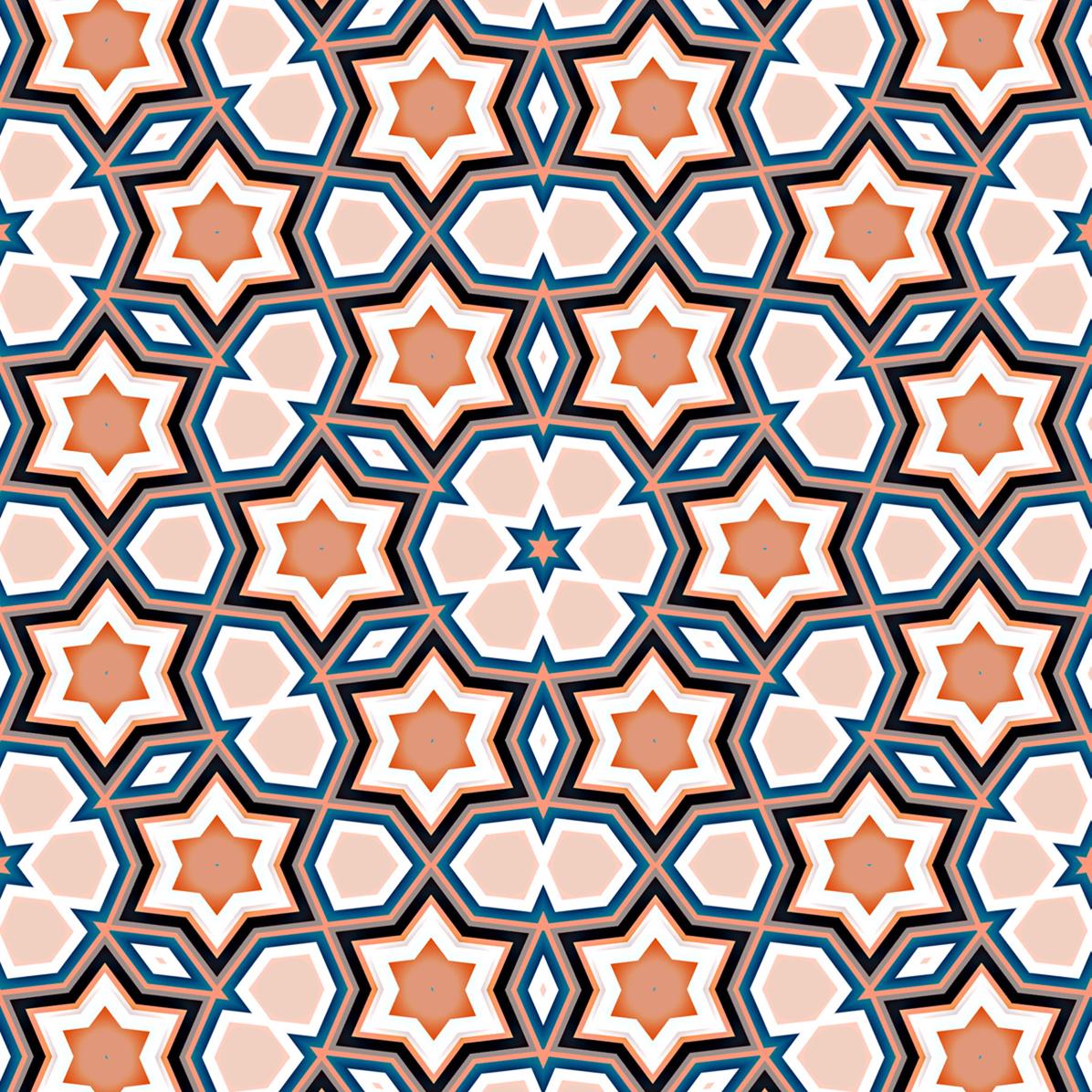 Art Design Patterns : Mehboob dewji magnificent digital islamic patterns iii