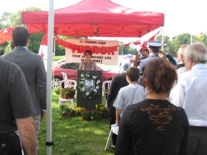 One minute silence on Sunday, August 23, 2009