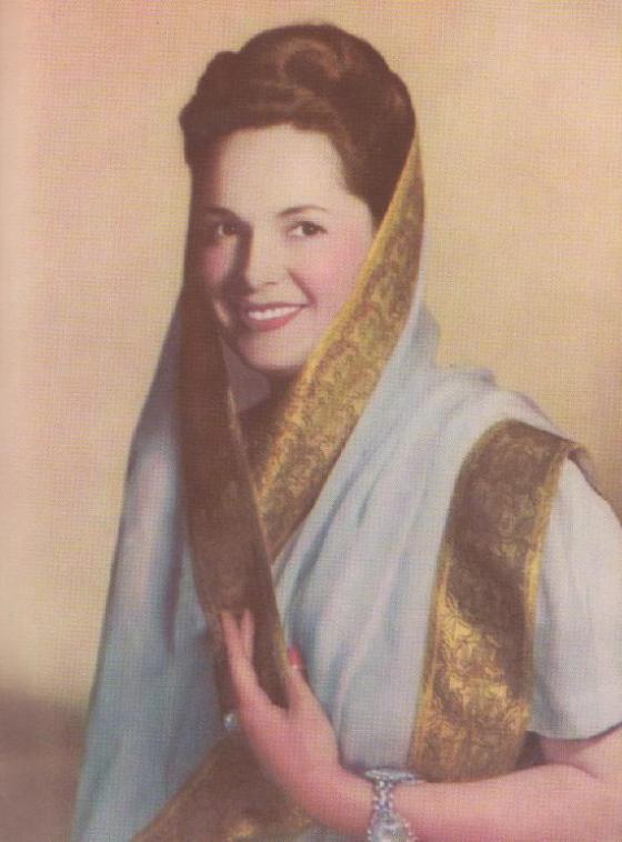 """Begum Aga Khan Portrait in """"The Aga Khan and Africa"""" Souvenir"""