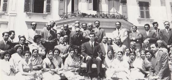 Aga Khan IV enthronement at Villa Barakat in Geneva