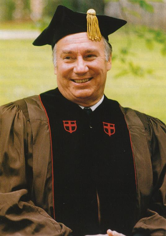 Aga Khan IV, 49th Ismaili Imam, pictured at Brown University in May 1996. Photo: Akdn.org