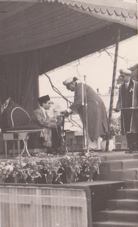 Ceremonial installation of the 49th Imam in Kampala, Uganda.