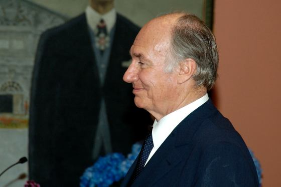 Mawlana Hazar Imam, His Highness the Aga Khan, pictured before he was presented with the Order of Canada decoration by Her Excellency the Right Honourable Adrienne Clarkson in Ottawa on June 6, 2005. Photo credit: Sgt Eric Jolin, Rideau Hall