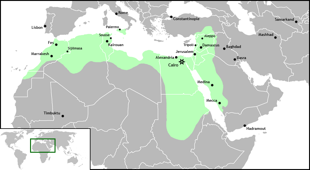 Islamic Caliphate Map Fatimid Islamic Caliphate Png