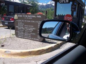 One of Grand Teton National Park's entrances. Photo: Malik Merchant. Copyright.