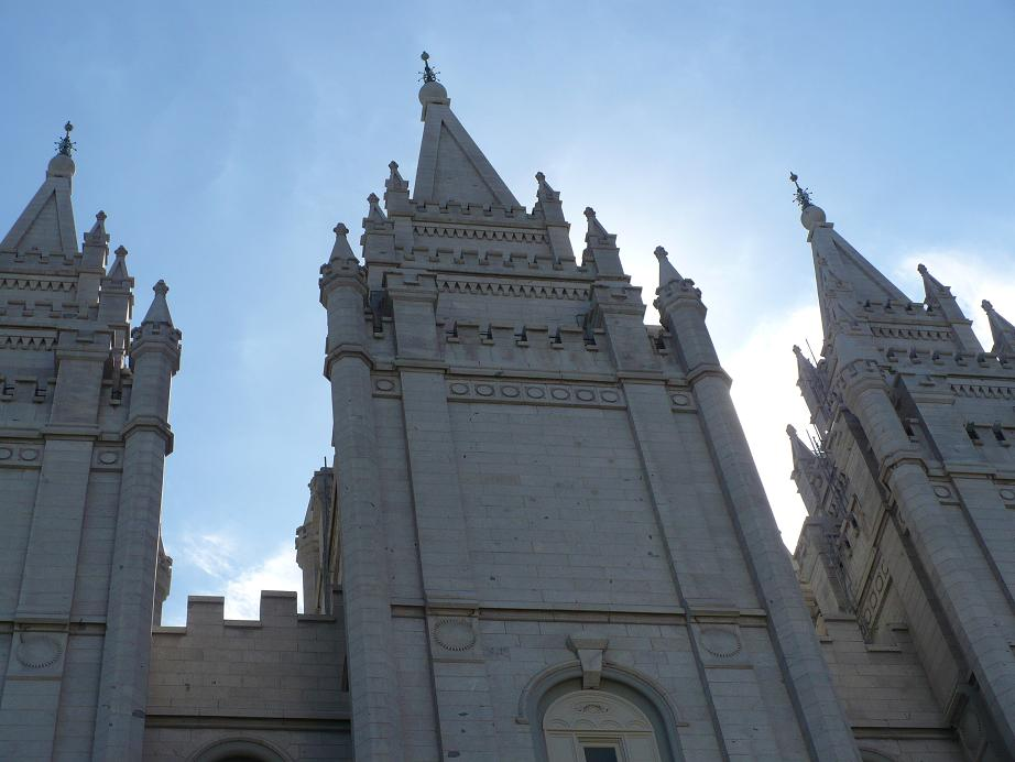Mormon Temple, Salt Lake City, Church of Jesus Christ of Latter Day Saints, Simerg, Malik Merchant. ©