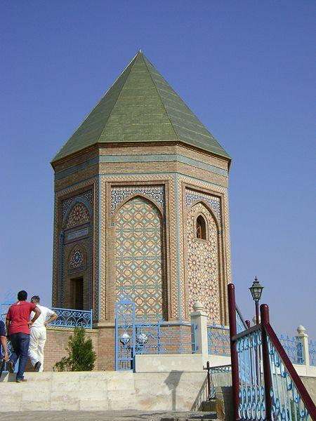 A mausoleum dedicated to Prophet Noah in Azerbaijan. Photo: Wikipedia.
