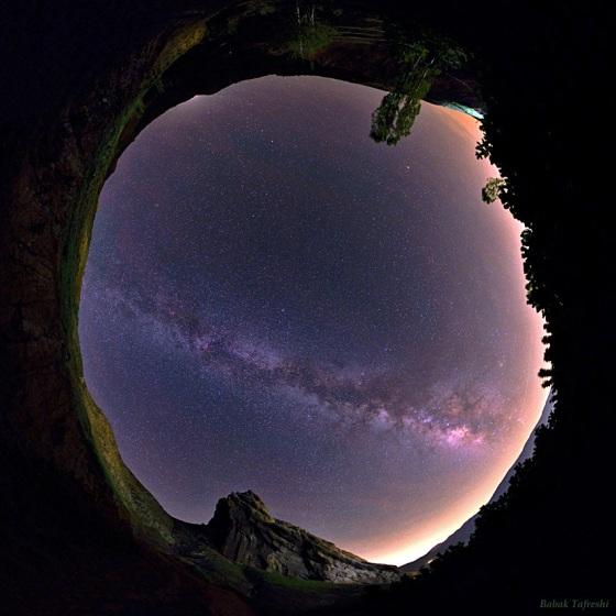 Milky Way Over Alamut