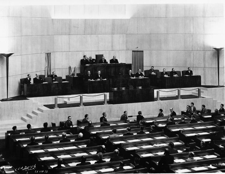 League Of Nations Assembly 1926