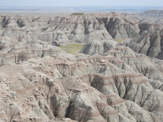 Badlands National Park, South Dakota. Photo: Malik Merchant using Canon Pwershot A200.