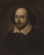 William Shakespeare portrait, engraved by Samuel Cousins1849. Photo: US Libary of Congress.