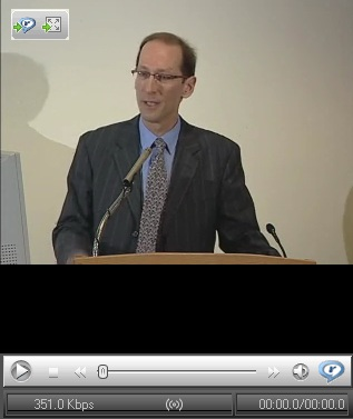 Please click for presentation by Jonathan Lyons. To bypass preliminaries, please fast forward to to the 9:05 minute mark