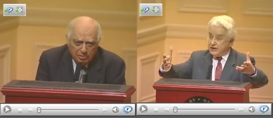 Please click on image to view the the presentations by Bernard Lewis and the late Mohammed Arkoun