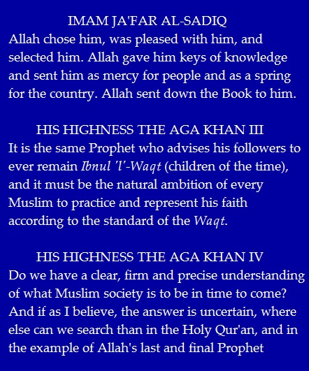 Please click for Reflections on Prophet Muhammad (s.a.s.)