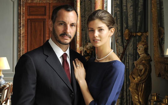 Prince Rahim Aga Khan and Ms. Kendra Spears