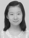 Zhang He when she was 11.