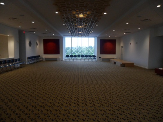 The foyer of Ottawa's new Jamatkhana which was declared open on Friday July 19, 2013. Please click for photo essay.