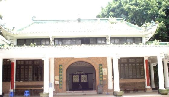 The prayer hall of the Huaisheng mosque in Guangzhou. Photo: Zulfikar Mulji. Copyright.