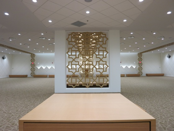 Ottawa Jamatkhana prayer hall. Please click on image for architect's statement and additional photos. Photo: Alia Noormohamed