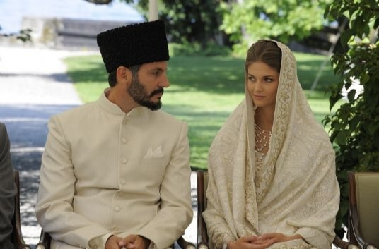 Prince Rahim and Princess Salwa during their nikah ceremony in September 2013. Photo: TheIsmaili / Gary Otte
