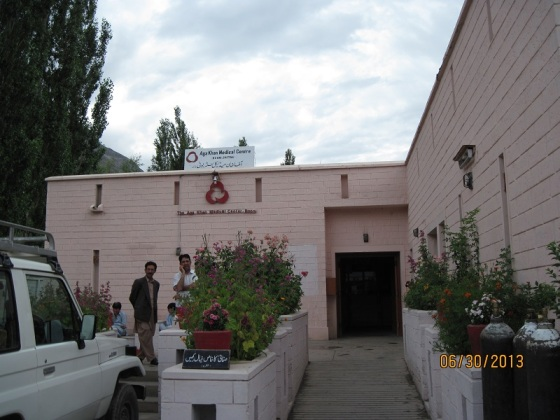 Tha Aga Khan Health Centre in Booni, Chitral. Photo: Badrudin Kurwa. Copyright.