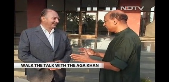 His Highness the Aga Khan was interviewed by NDTV's Shekar Gupta during his visit to Hyderabad for the inauguration of the Aga Khan Academy. See link below for interview.