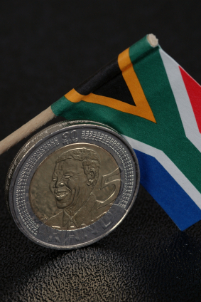 A ZAR 5 coin, manufactured in South Africa on Nelson Mandela's 90th birthday.  Photo: Istockphoto.com