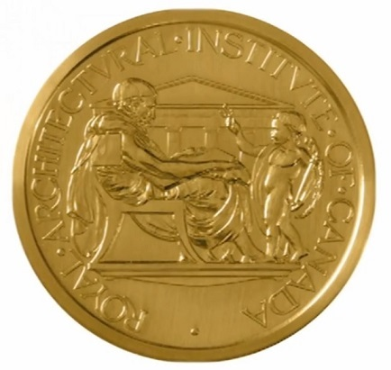 The Gold Medal is the highest honour bestowed by the Royal Architectural Institute of Canada. It is awarded each year to an individual(s) recognizing significant contribution to Canadian architecture.