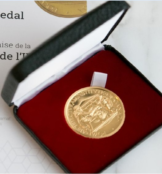 The Gold Medal is the highest honour bestowed by the Royal Architectural Institute of Canada. It is awarded each year to an individual(s) recognizing significant contribution to Canadian architecture. Photo: Mo Govindji/AKDN.