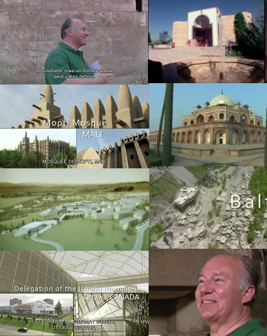 Please click on image to watch a 7 minute video representing some of the work of His Highness the Aga Khan. You will be taken to the website of RAIF. Collage by simerg from video.