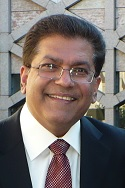 Abdulmalik Merchant,  Publisher-Editor, Simerg. Click photo for profile.