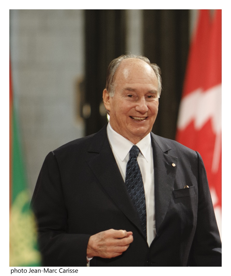 His Highness the Aga Khan at the Canadian Parliament on Thursday, February 27, 2014. Photo: Copyright Jean-Marc Carisse.