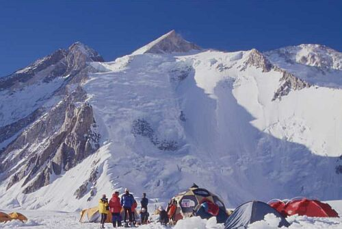 Gasherbrum 2, another eight-thousander in  the  Karakoram range. Photo: Wikipedia.