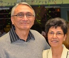 Sadru and Yasmin Meghji