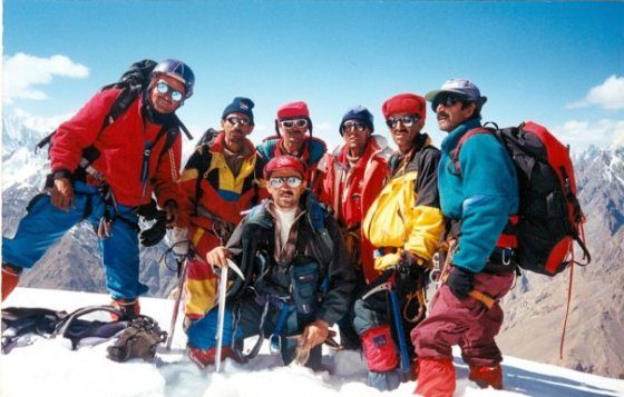 Shimshali Mountaineers. Photo: Wikipedia.