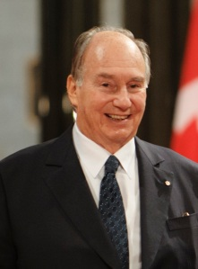 His Highness the Aga Khan at the Canadian Parliament on 27 February 2014.