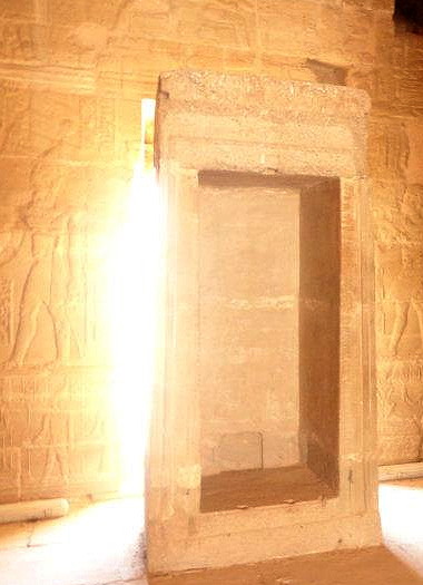 Divine light - Ancient Egypt. Please click on image for article on Neoplatonism and Avicenna.