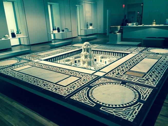 Part of main exhibition hall, Aga Khan Museum. Photo: Malik Merchant/Simerg