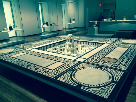 Part of main exhibition hall, Aga Khan Museum. Photo: Malik Merchant/Simerg