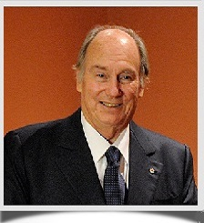 Mawlana Hazar Imam, His Highness the Aga Khan. Photo: John Macdonald.