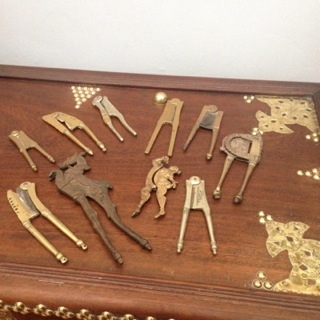 A collection of Suris, which are used to break the sopari into smaller sizes. Photo: Shariffa Keshavjee
