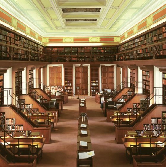A view of the African and Middle Eastern Reading Room at the Library of Congress. Photo: Library of Congress, USA.
