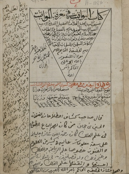 A folio from a manuscript whose original work was dedicated to Ismaili Imam al-Hakim. Photo: Library of Congress, USA.