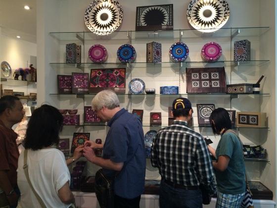 May 24th 2015 - Toronto's 16th Annual Doors Open. The Aga Khan Museum, gift shop. Photo: Malik Merchant/Simerg. Copyright.