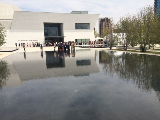 May 24th 2015 – Toronto's 16th Annual Doors Open. The Aga Khan Park with Museum in background. Photo: Malik Merchant / Simerg. Copyright